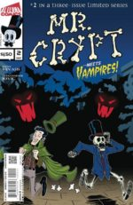 Marvel, DC, Alterna, Toys R Us, LCS, Troy Vevasis, Mr. Crypt, newsprint, Indie comics,
