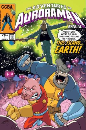 Auroraman Annual 1 Cover
