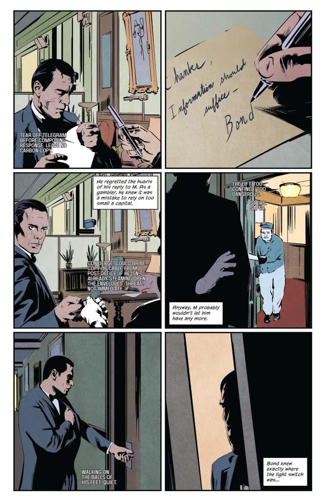 James Bond: Casino Royale preview – First Comics News