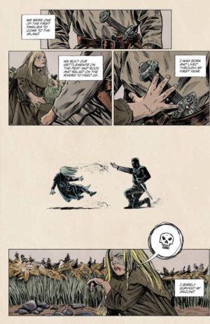 Sword Daughter #1 Interior Page