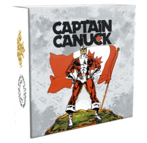 Captain Canuck Coin Box