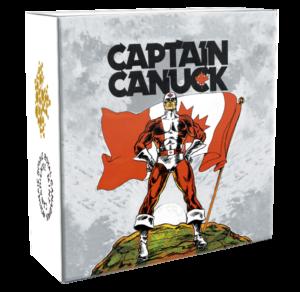 Captain Canuck Coin Box
