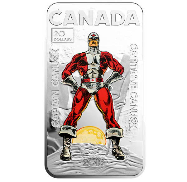 Captain Canuck Coin