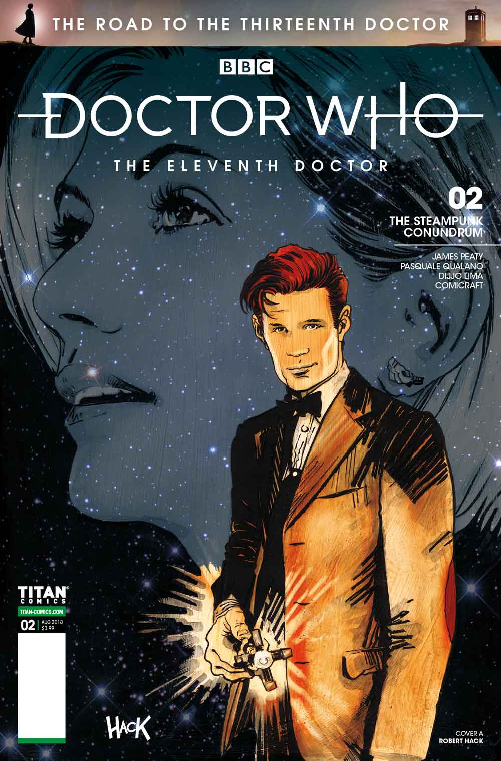Zbox Exclusive Cover New BBC Doctor Who #1 The Thirteenth Doctor Comic