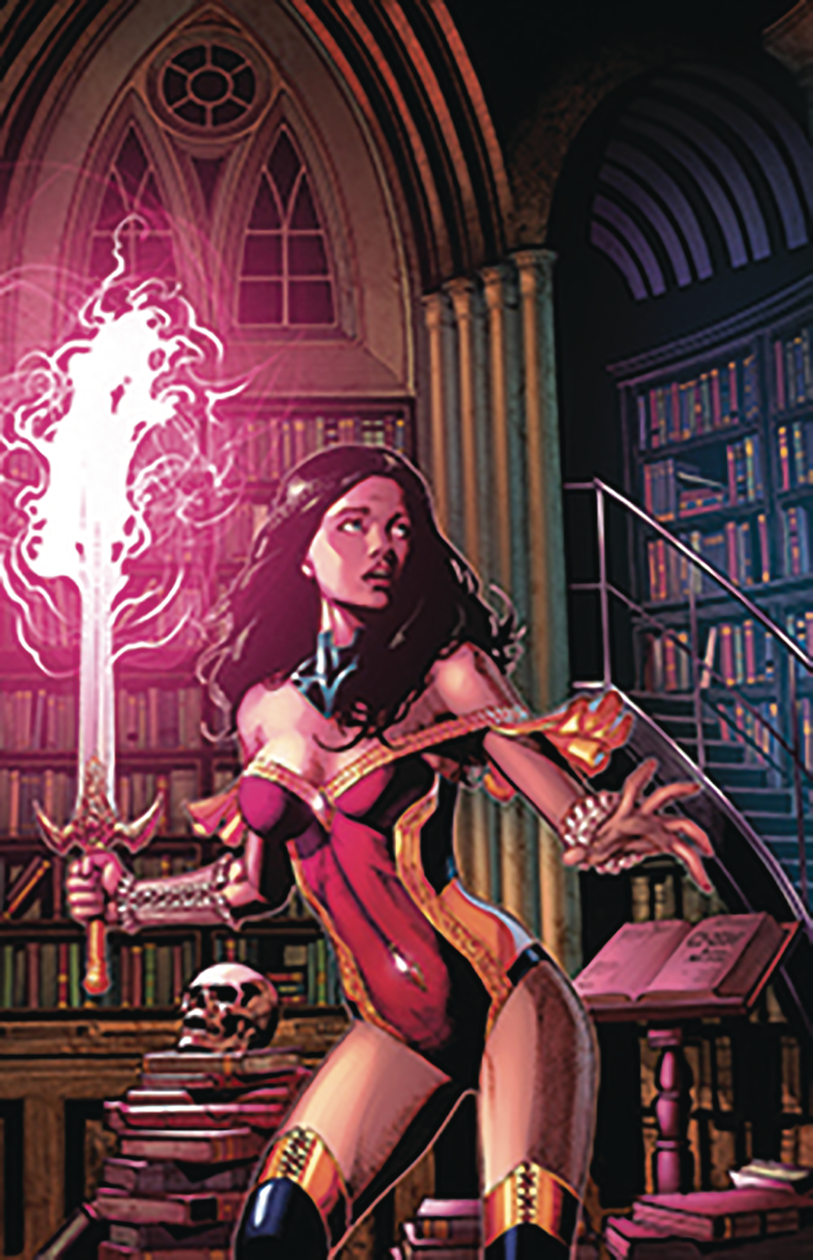 Grimm Fairy Tales Presents Wonderland Vol 1 26 | Zenescope ... |Grimm Fairy Tales Original Art