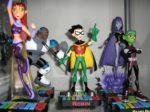 DC, Marvel, Gentle Giant, Star Wars, Batman, Own Man, Young Justice, Justice League, Teen Titans, Super Friends, Disney XD,
