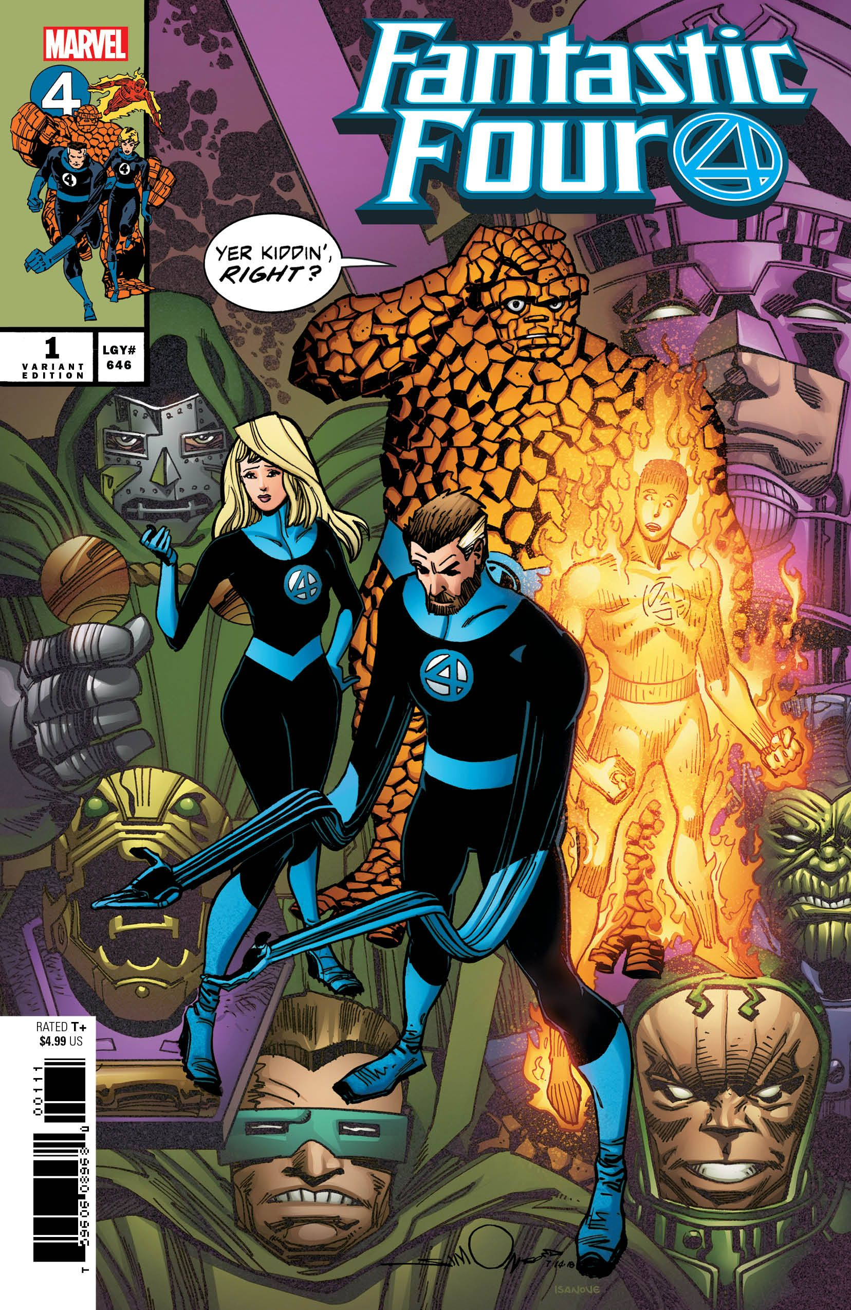 celebrate the return of the fantastic four with an all