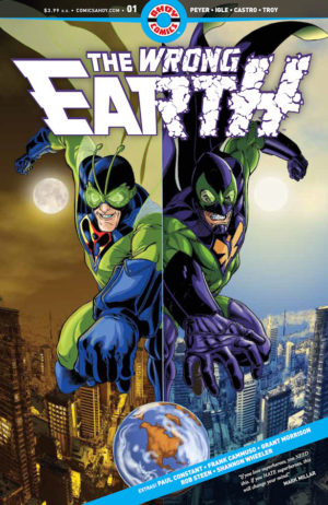 Cover Wrong Earth #1