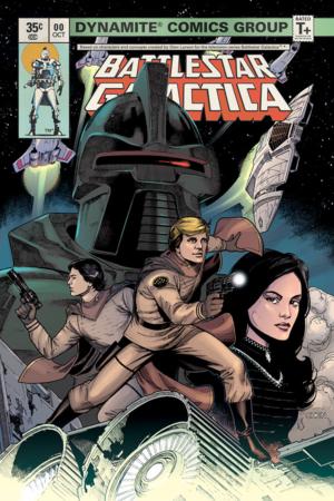 Battlestar Galactica Classic #0 Cover