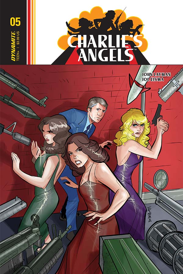 Charlie's Angels #5 preview – First Comics News