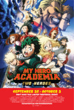 """MY HERO ACADEMIA: TWO HEROES"" PROVES TO BE  A BOX OFFICE HERO FOR FUNIMATION FILMS"