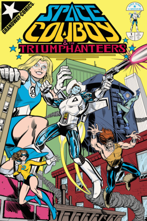 Space Cowboy and the Triumphanteers Cover