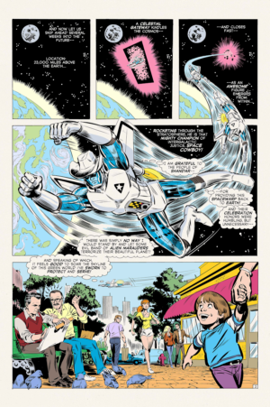 Space Cowboy and the Triumphanteers Interiour Page