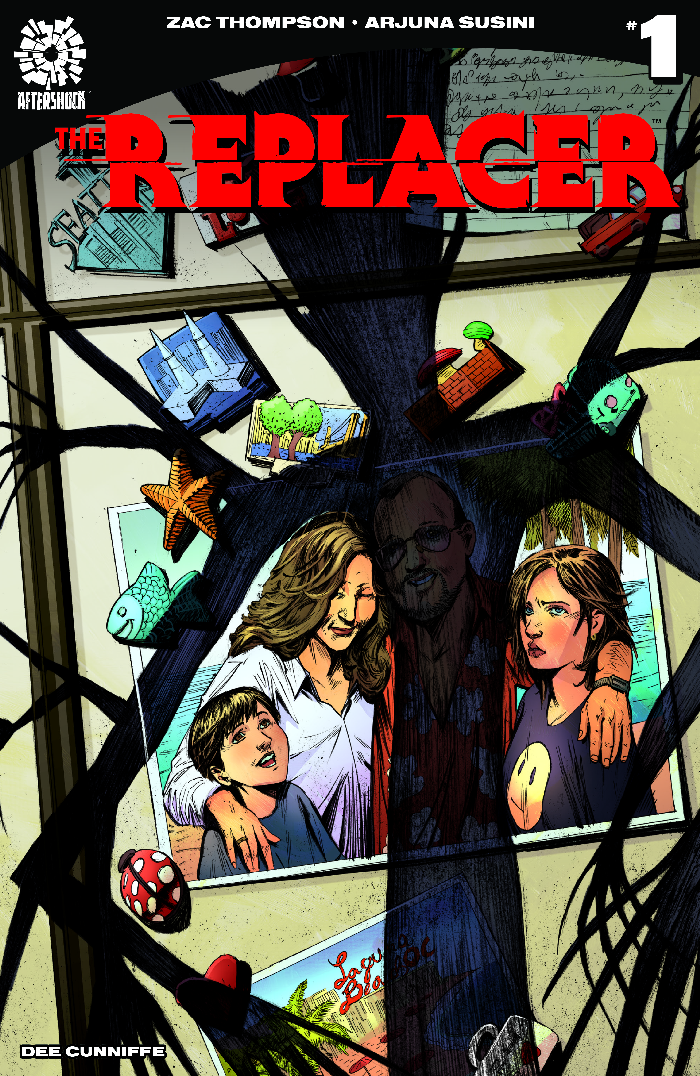 Aftershock Comics Announces Next New Title The Replacer