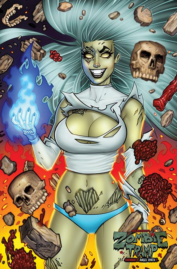 Zombie Tramp Vol 2 #57 Cover A Regular TMChu Cover
