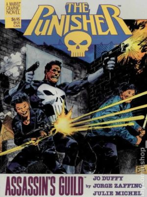 Punisher Assassins Guild Graphic Novel