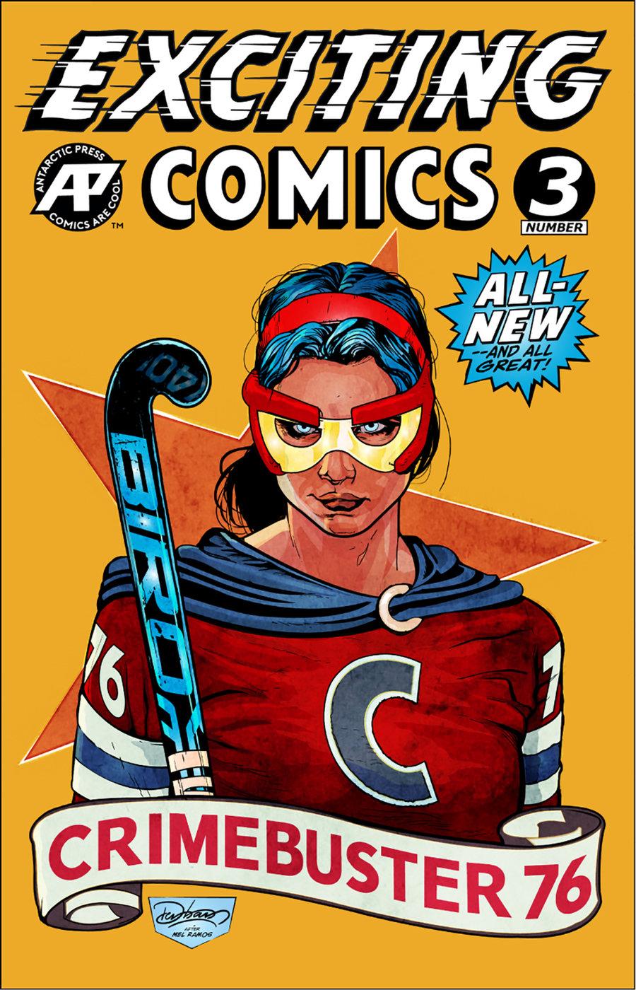 Antarctic Press June 2019 Solicitations  U2013 First Comics News