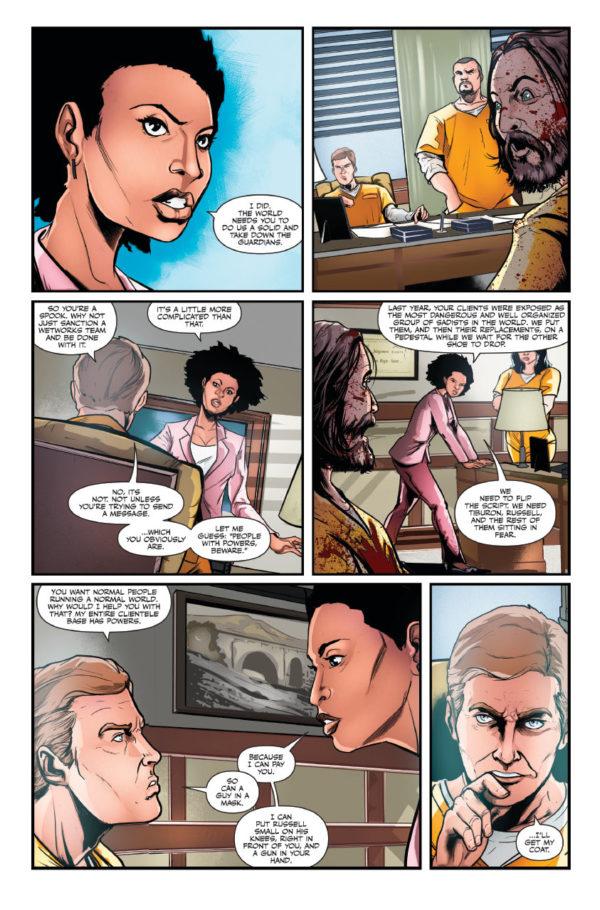 The Consultant Volume 2 Quid Pro Quo 3 First Comics News