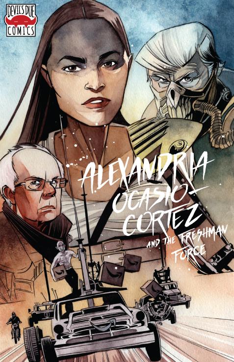 Josh Blaylock Talks About Alexandria Ocasio Cortez First Comics News Feel the burn (cincinnati comic expo exclusive). josh blaylock talks about alexandria