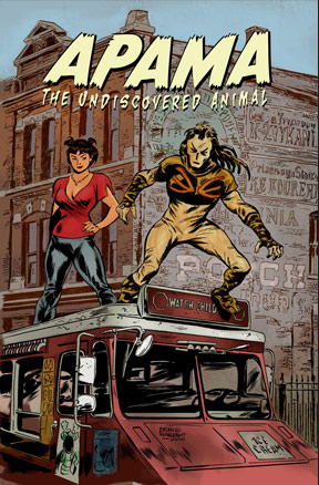 Apama's, Tap Dance Killer's, oh my! Welcome to the world of Hero Tomorrow!
