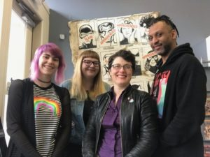 Katie Proctor and the Books with Pictures staff