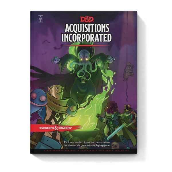 The Official Dungeons & Dragons Acquisitions Incorporated Sourcebook Available in Stores Now