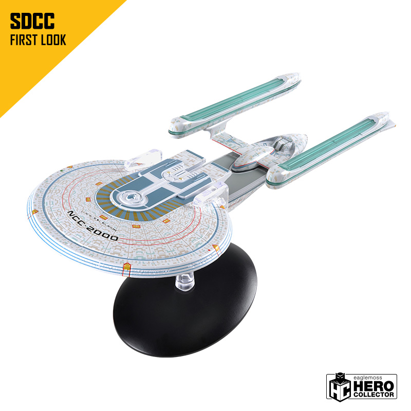 "EAGLEMOSS HERO COLLECTOR CELEBRATES ""SUMMER OF TREK"" AT STAR TREK"