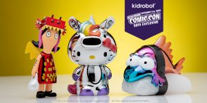 Kidrobot New York Comic Con Exclusives and Pre-Sale Starts Wednesday, August 14th