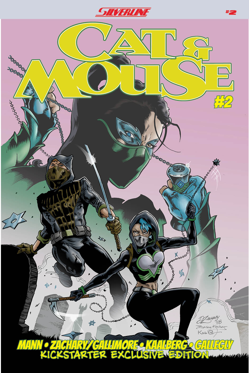 Silverline takes on human trafficking in Cat & Mouse #2 – First Comics News