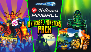 Classic Universal Monsters Scare Up DLC for Pinball FX3 and Williams Pinball