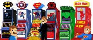 Comic Hero Slot Games