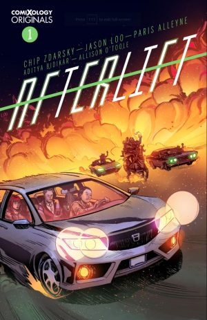 Afterlift #1 Cover
