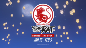 Overwatch Lunar New Year Event Underway