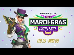 """Ashe's Mardi Gras Challenge"" Now Underway on Overwatch"