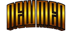 NEW MEN Comic Book Logo Showcase