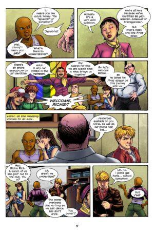 Spectrum #1 Interior Page