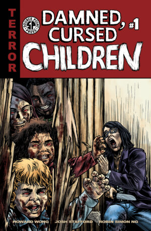 READY TO BE SCARED? DAMNED,CURSED CHILDREN # 1 ON SALE NOW
