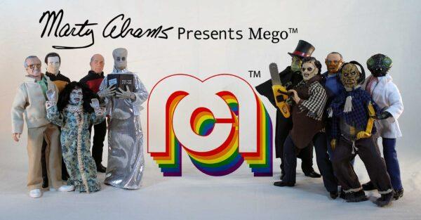 Mego Corporation Logo
